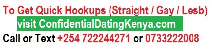 Confidential Dating Kenya
